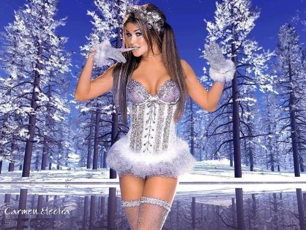 Открытки снегурочка