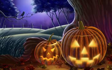 Картинки тыква Хэллоуин