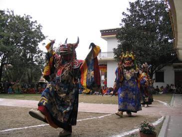 Танцы Лам