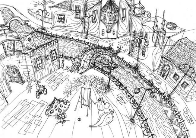 сказочный городишко