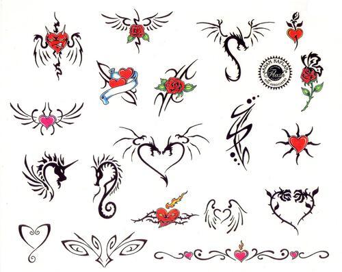картинки обозначения татуировок