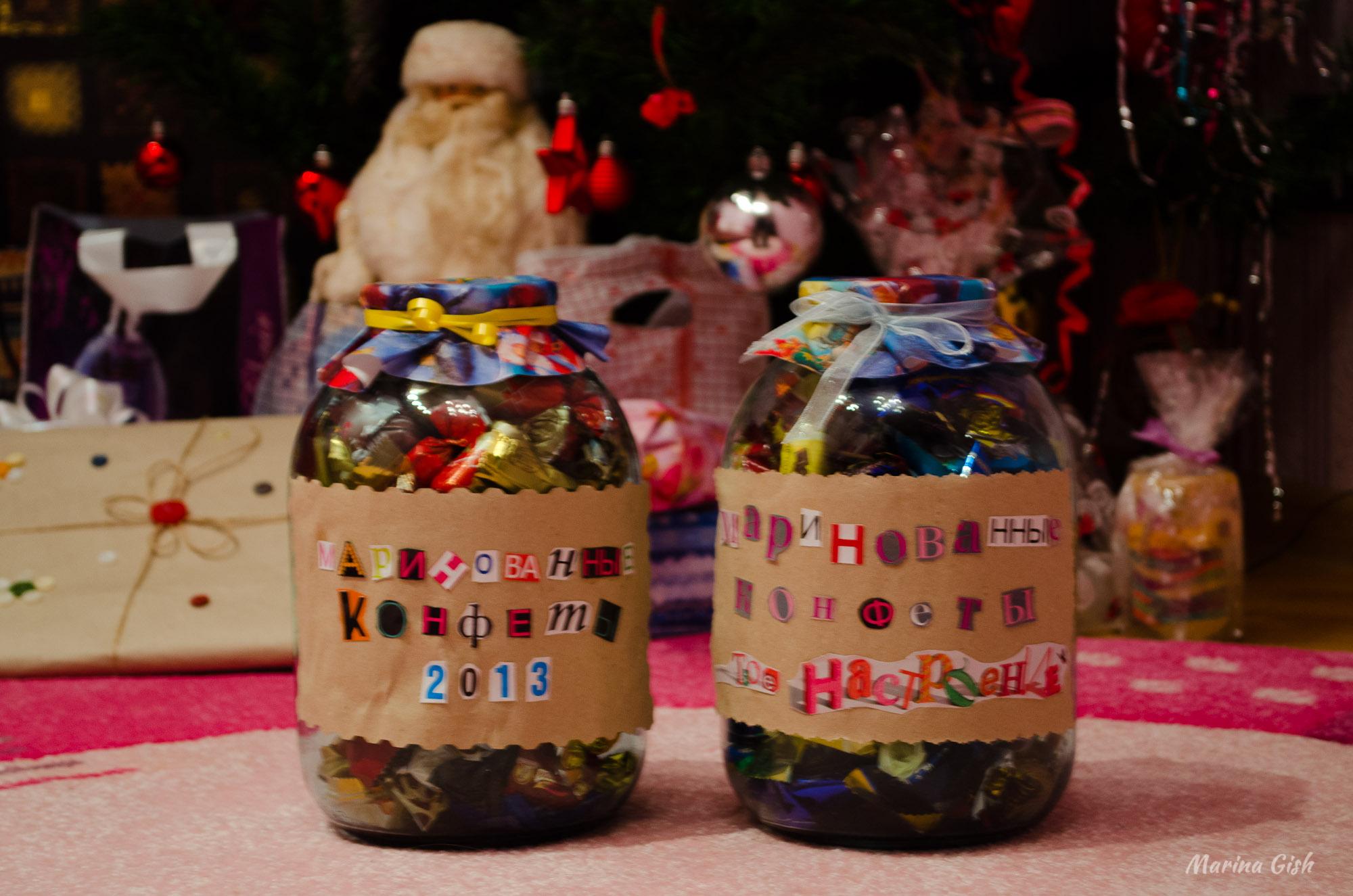 Необычные новогодние подарки своими руками на Новый год 2017