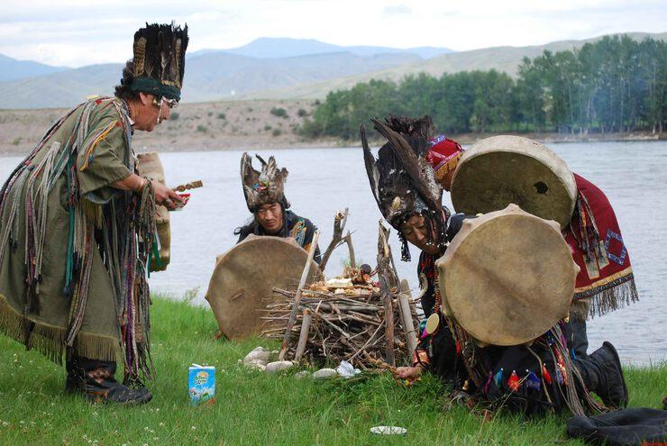 Тувинские шаманы