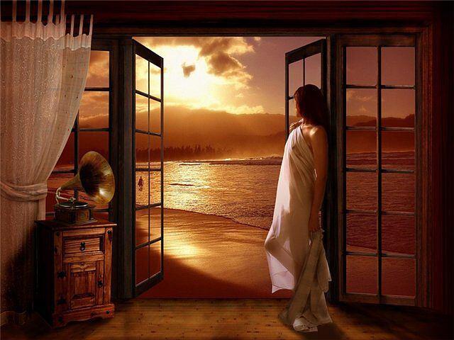 Собственно дверь в ткани сна означает переход между мирами, выбор.
