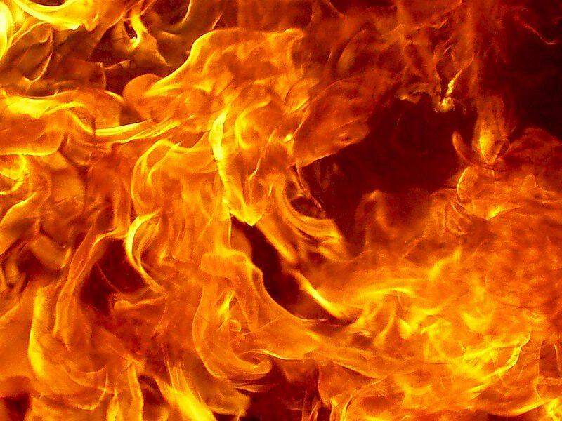 Красивые открытки с огнем, подсолнухов