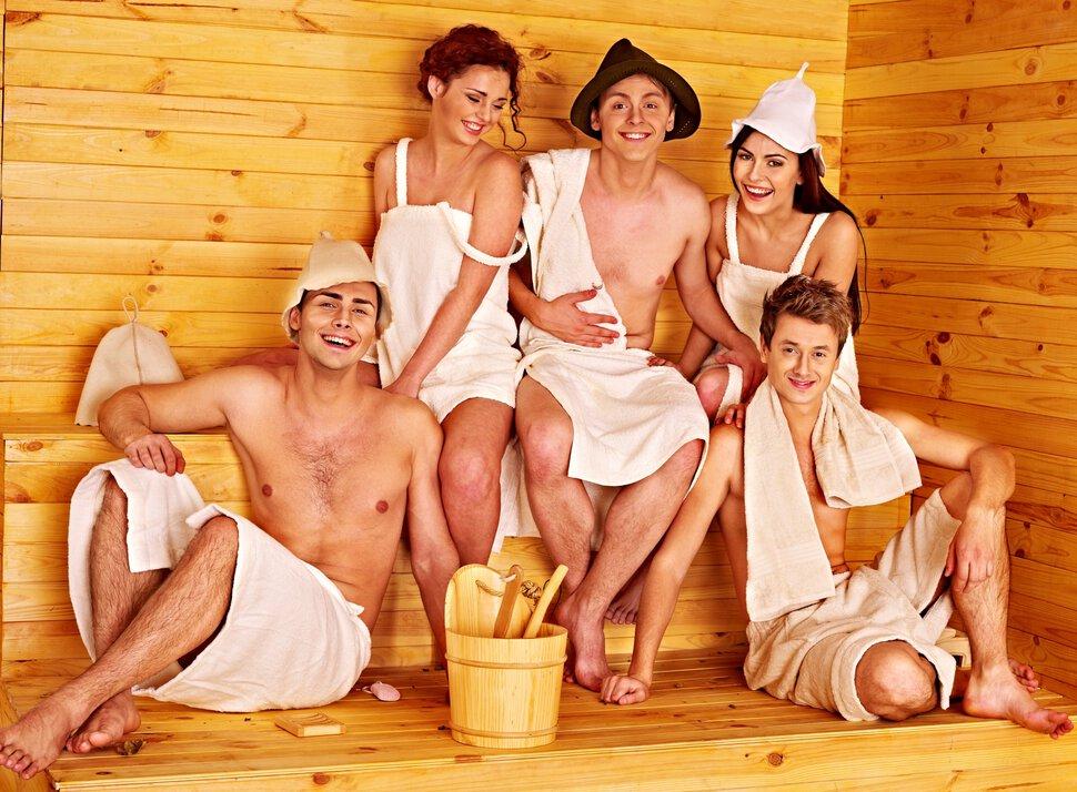 отдых в бане семьями фото они устраиваются
