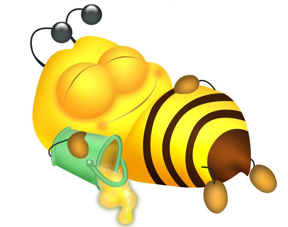 Картинки веселые про пчел
