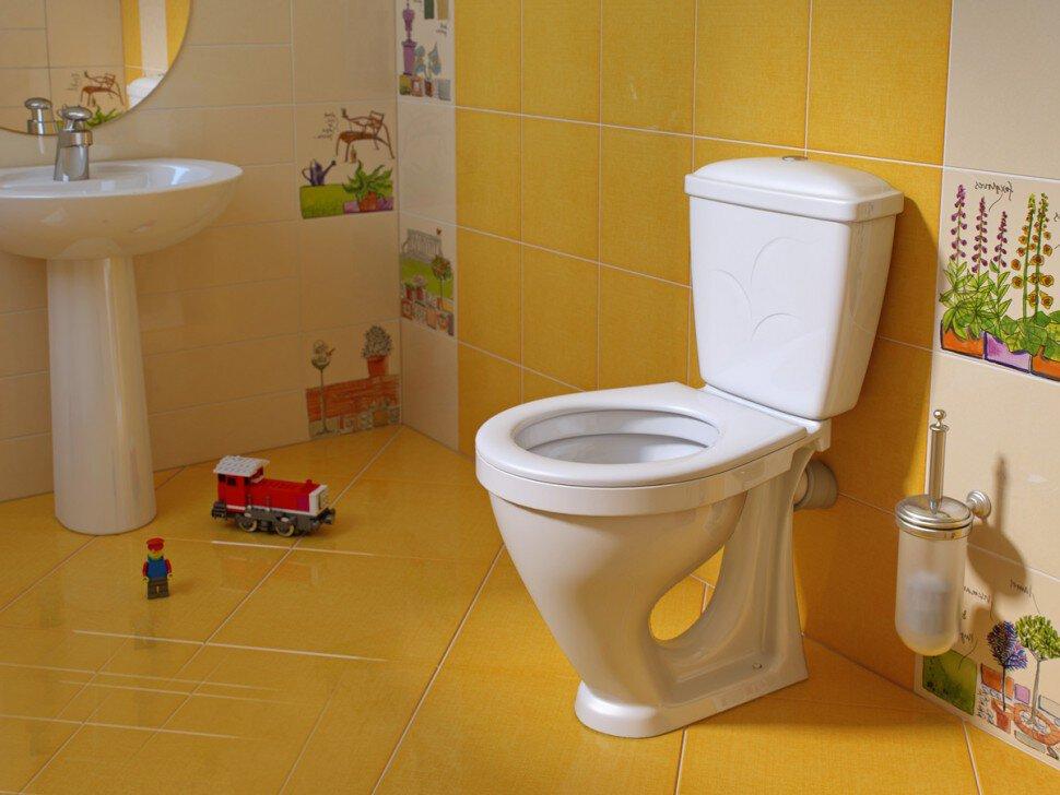 Туалеты в картинках, красивая открытка день