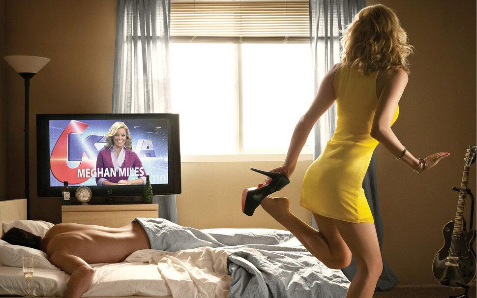 девушка смотрит порнуху по телевизору смотреть онлайн - 8