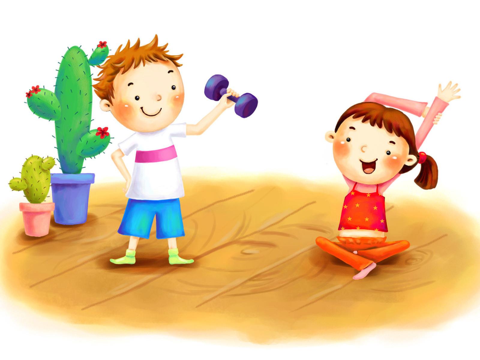 Физкультура и спорт картинки для детского сада