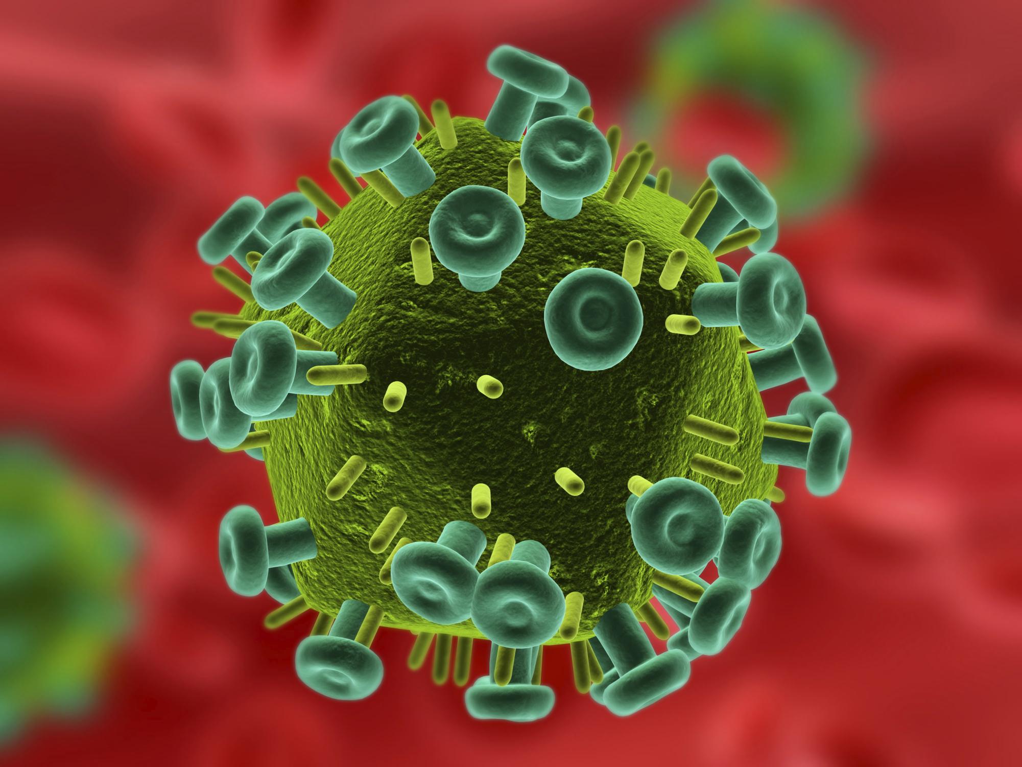 Картинка вируса спида и все о ней