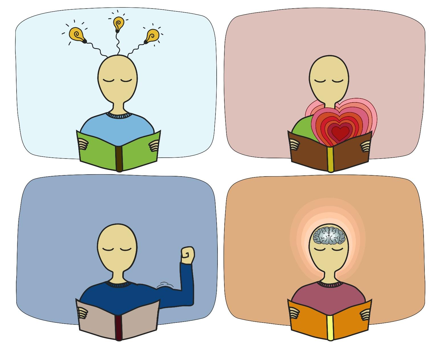 картинки о пользе книг