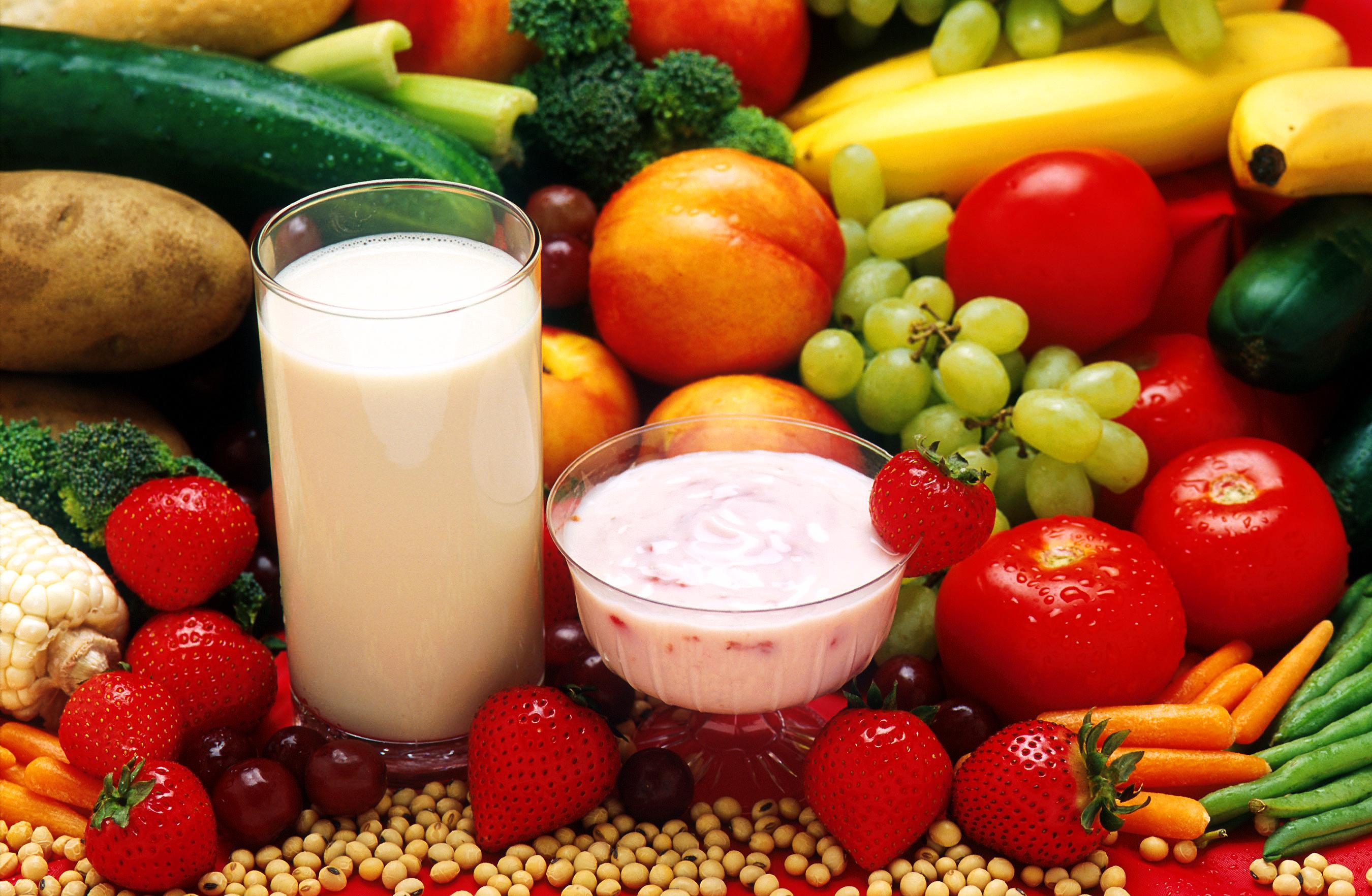 Овощная И Молочная Диета.
