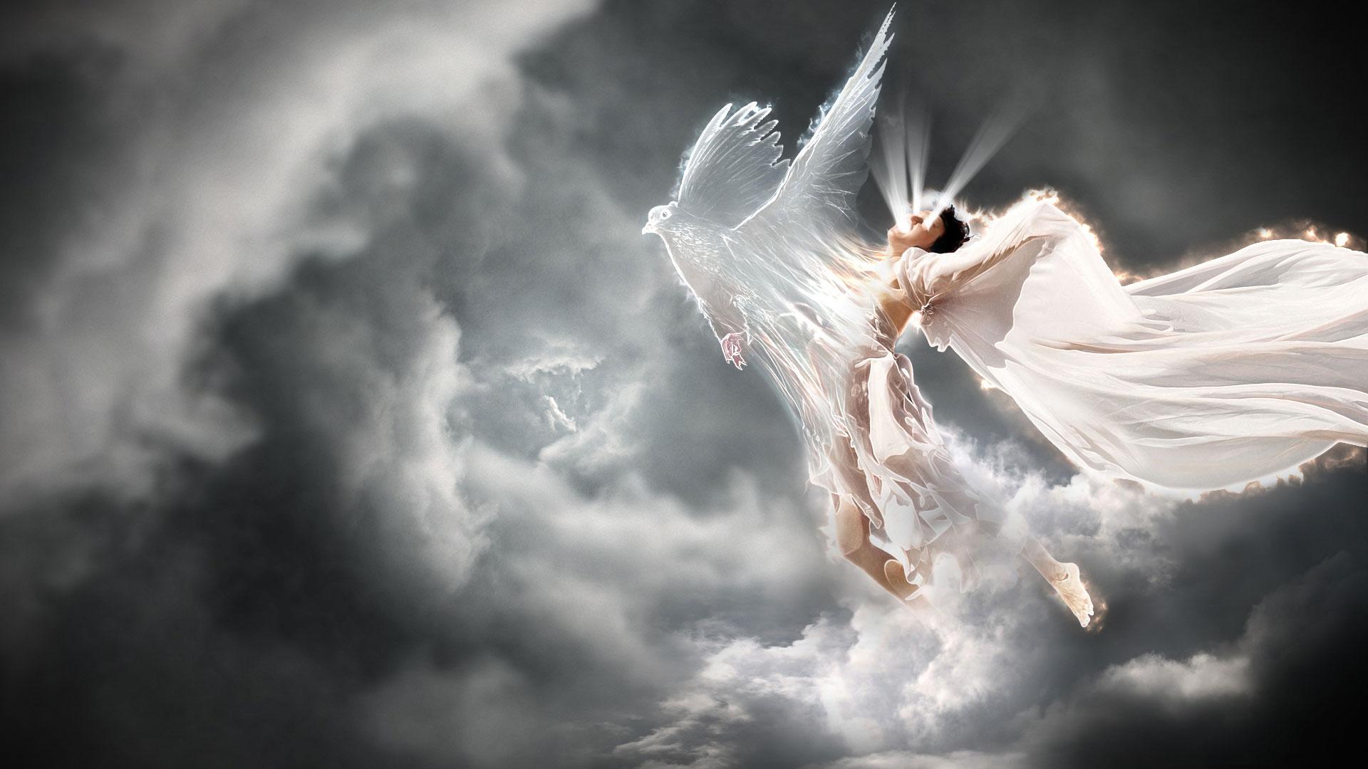 летающие ангелы картинки красиво добрым