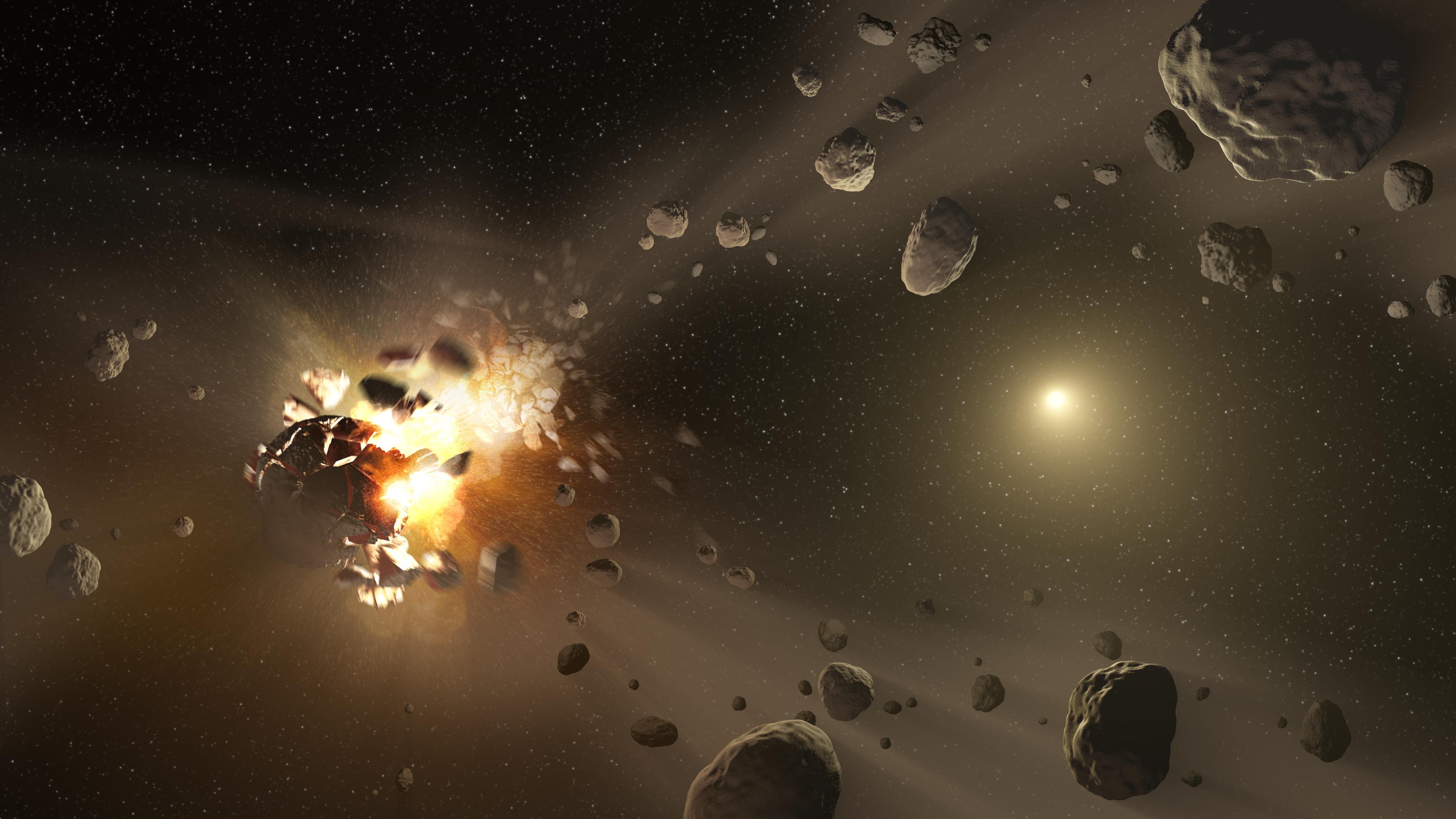 nasa comet collision - 1200×674