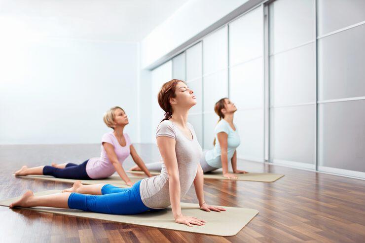 Техника йога для похудения