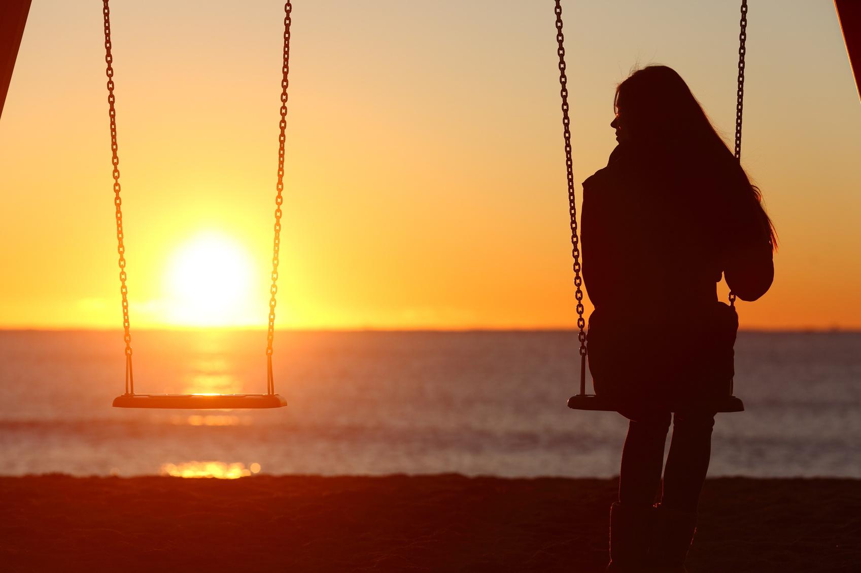 Фото символизирующее одиночество