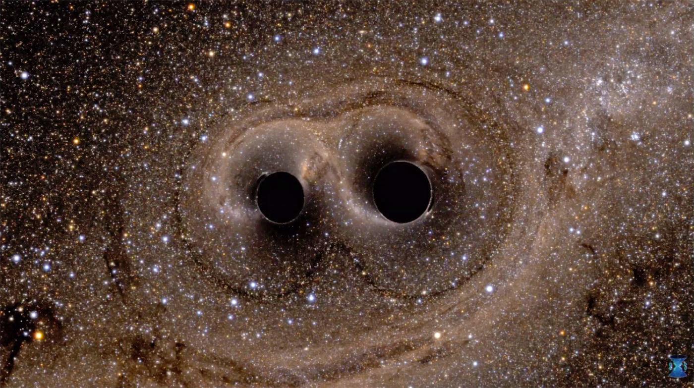 фото двух черных дыр вильсона позволяет весь