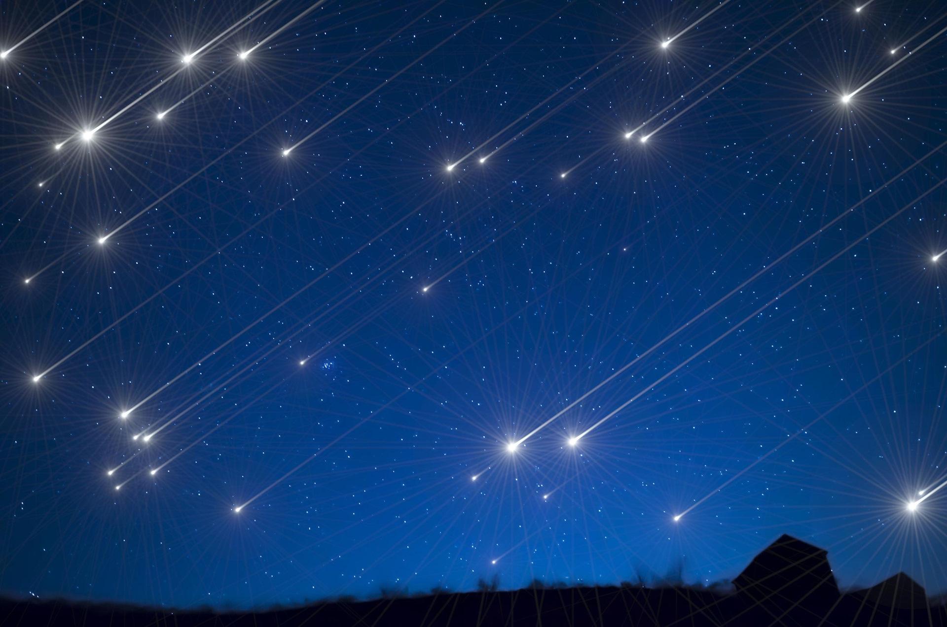 можете купить красивое фото звездопада зависит стиля