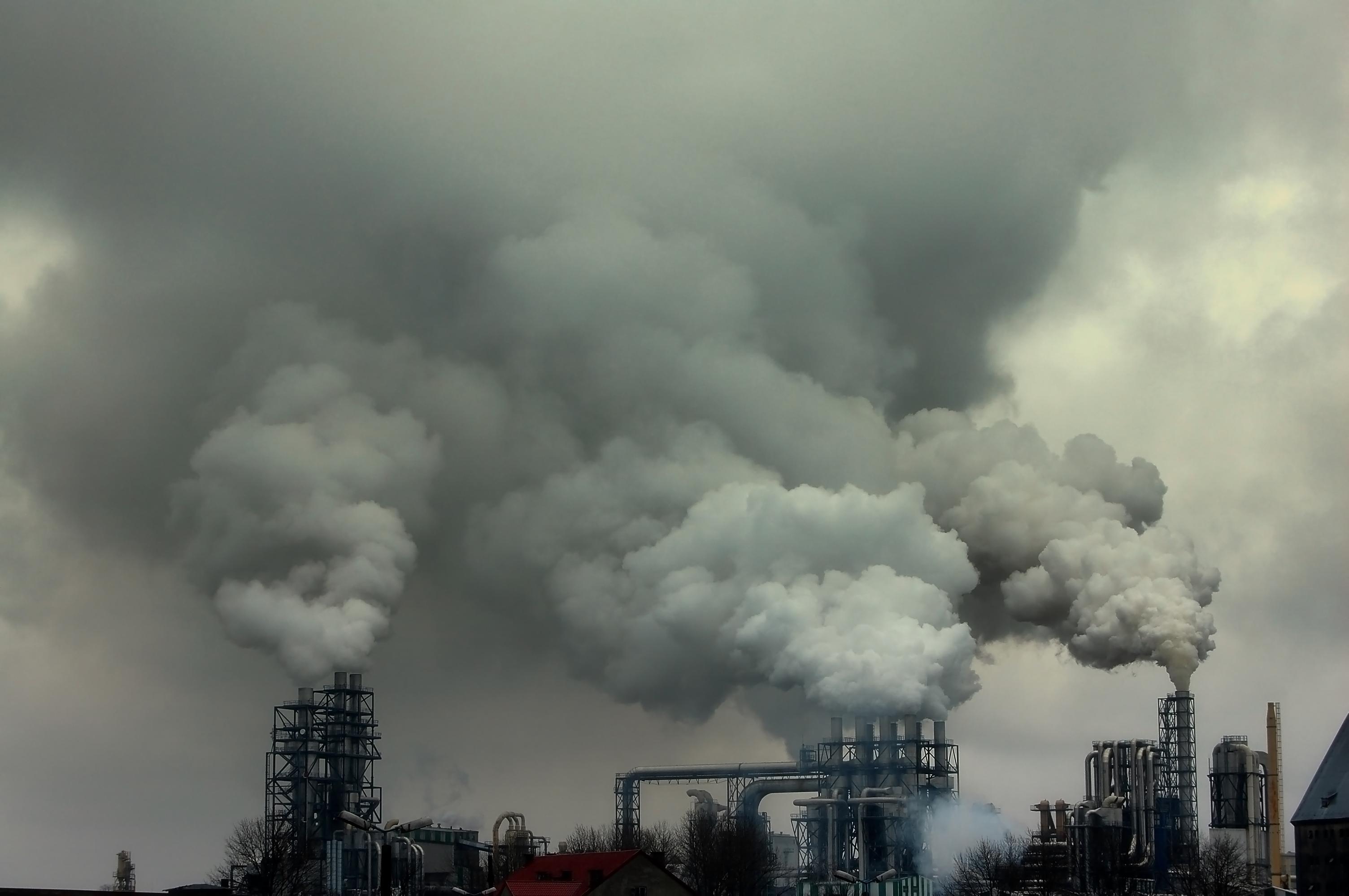 Картинка загрязнение воздуха заводами
