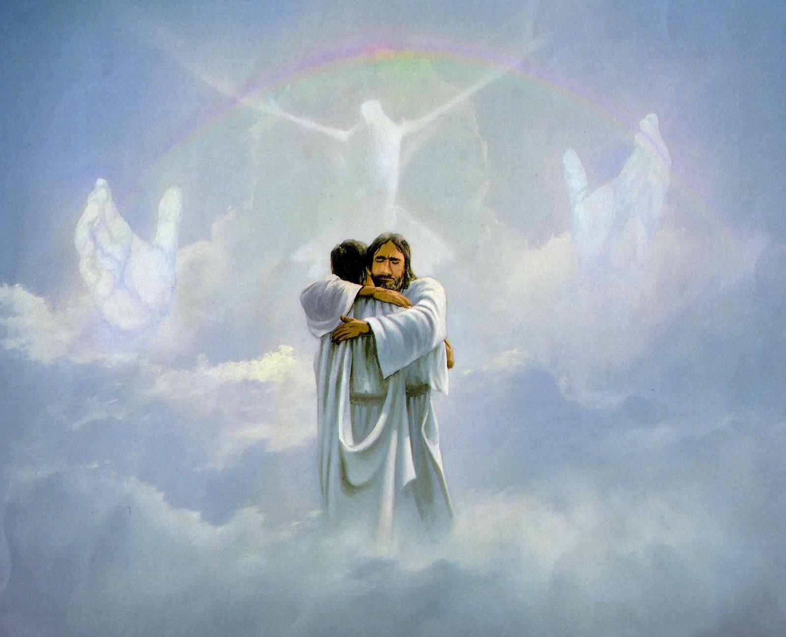 бог любит всех людей картинки