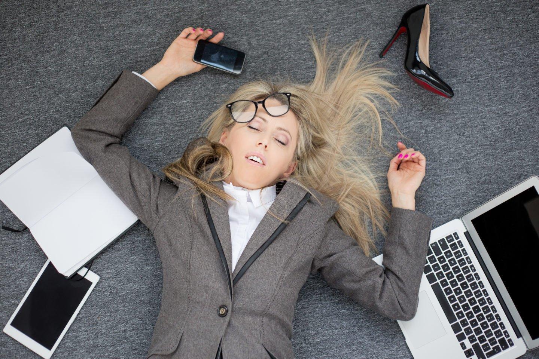 Прикольные картинки уставший работник