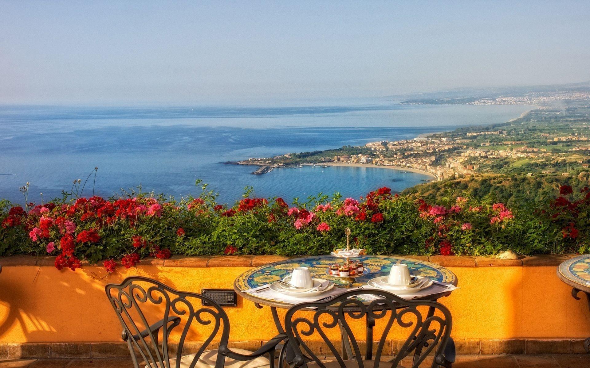 Открытка с отдыхом в италии