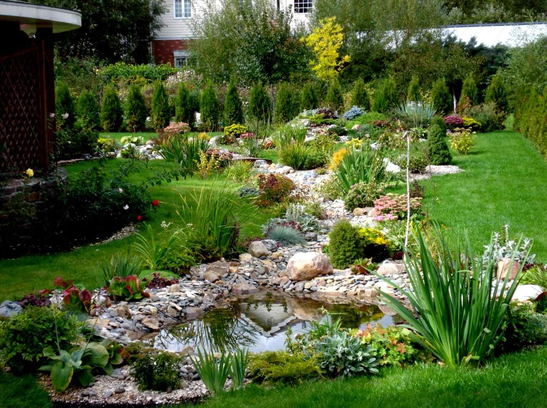 Сад своими руками в картинках