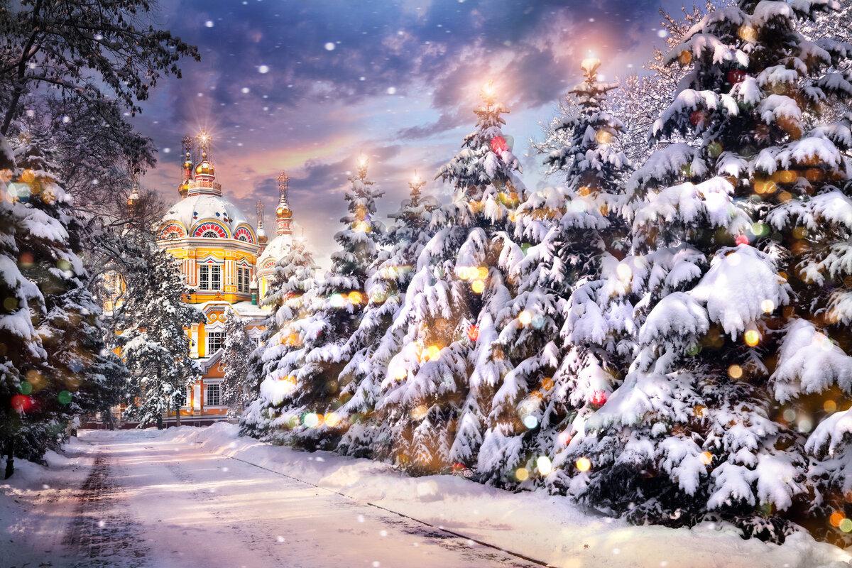 свойства картинки к сочельнику рождественскому наземное здание имеет