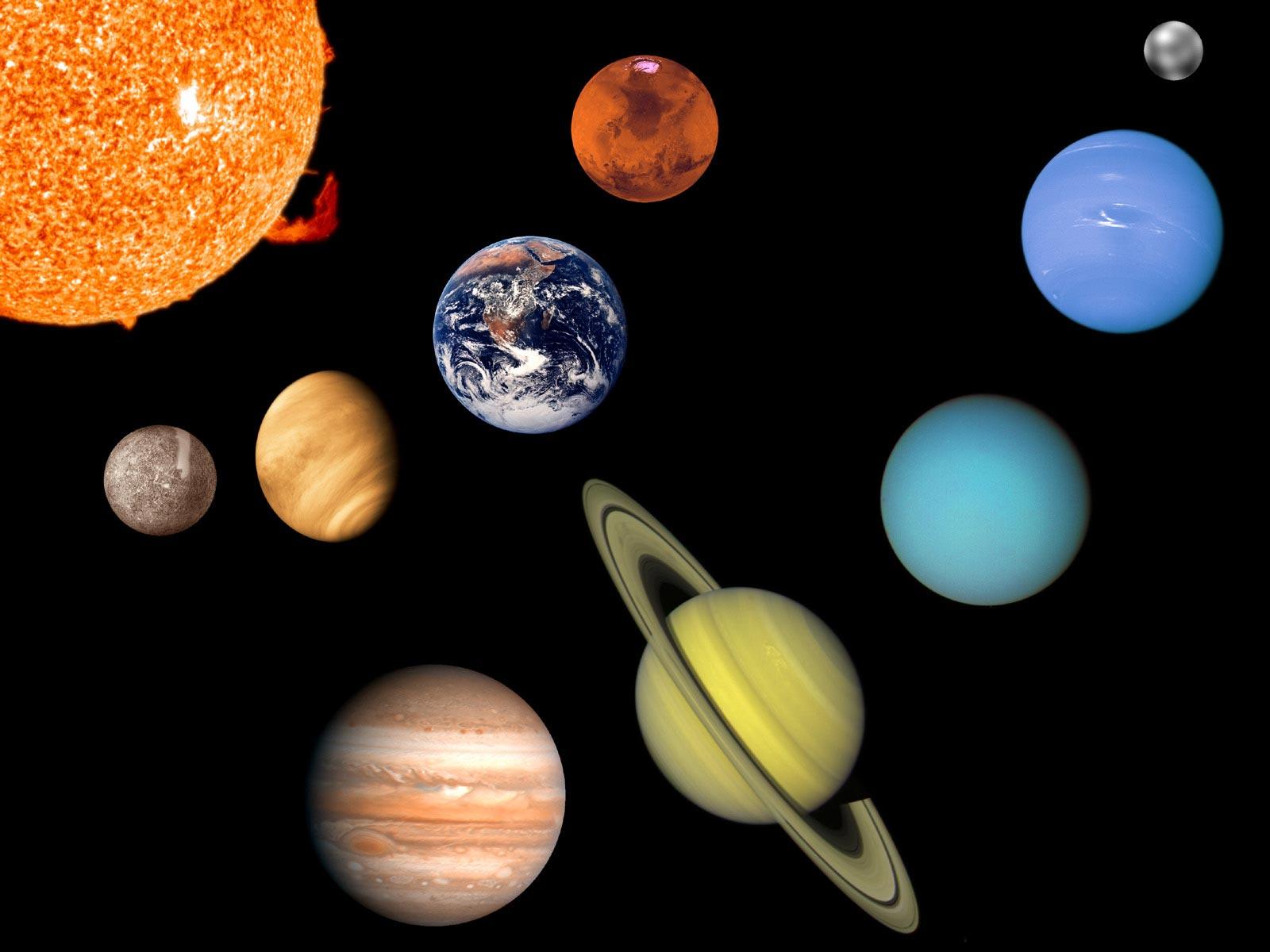 Картинки планет нашей солнечной систем