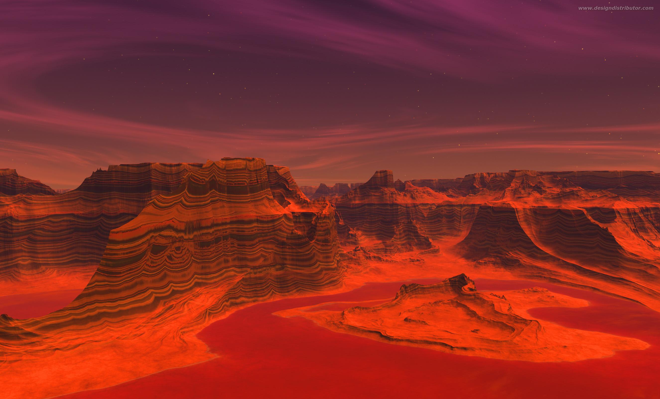 mars landscape images - HD2650×1600
