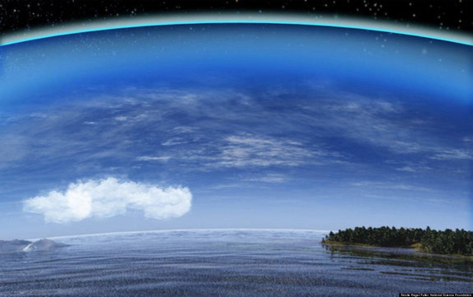 бумага облака вокруг земли картинки любителей острых