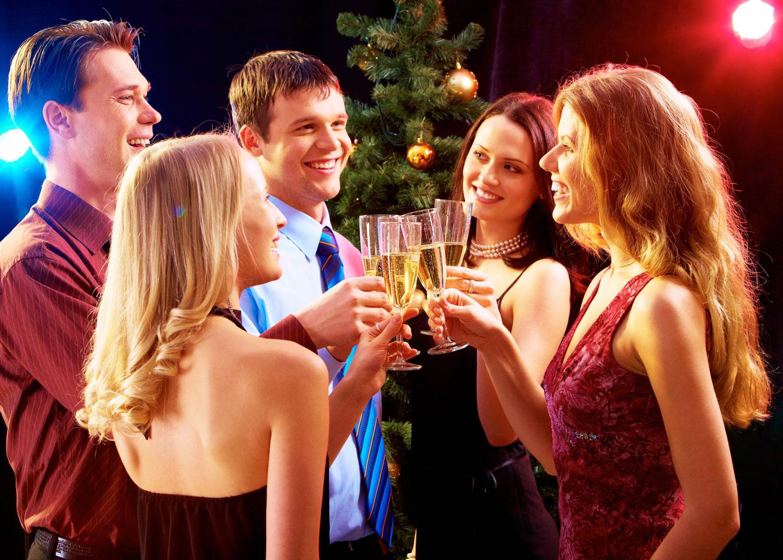 Как студенты отмечают новый год — 3