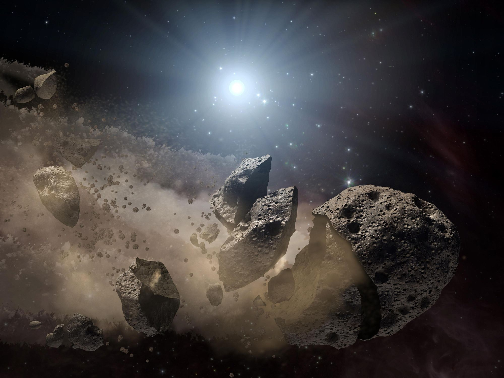 Астероиды и метеориты картинки