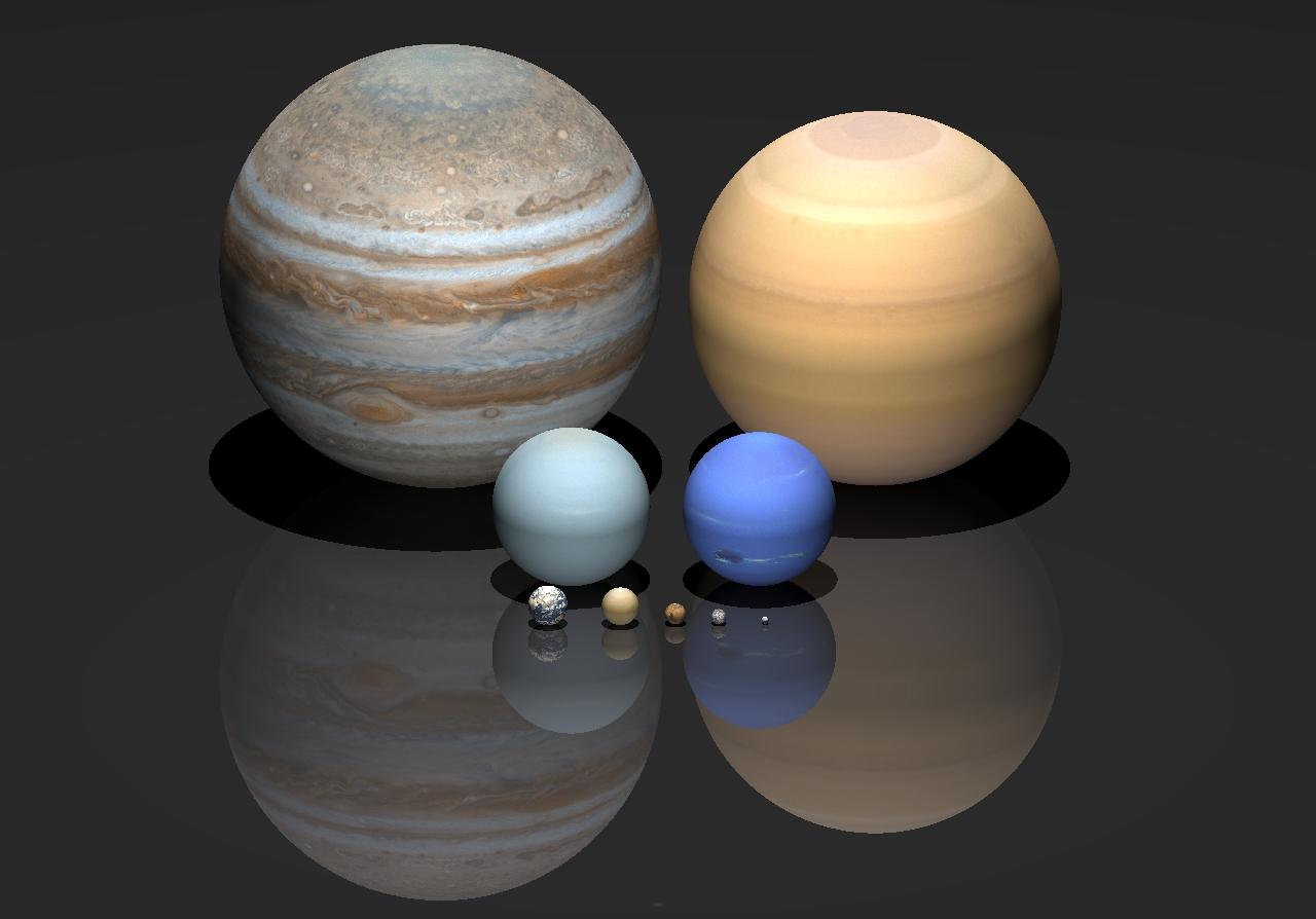 бы, что величина планет фото этого