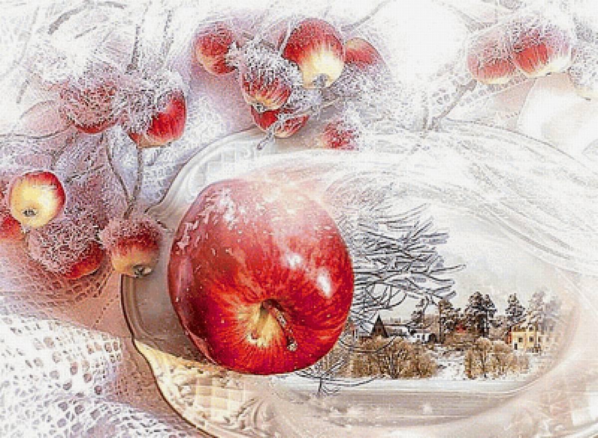 Дню строителя, открытки яблоками