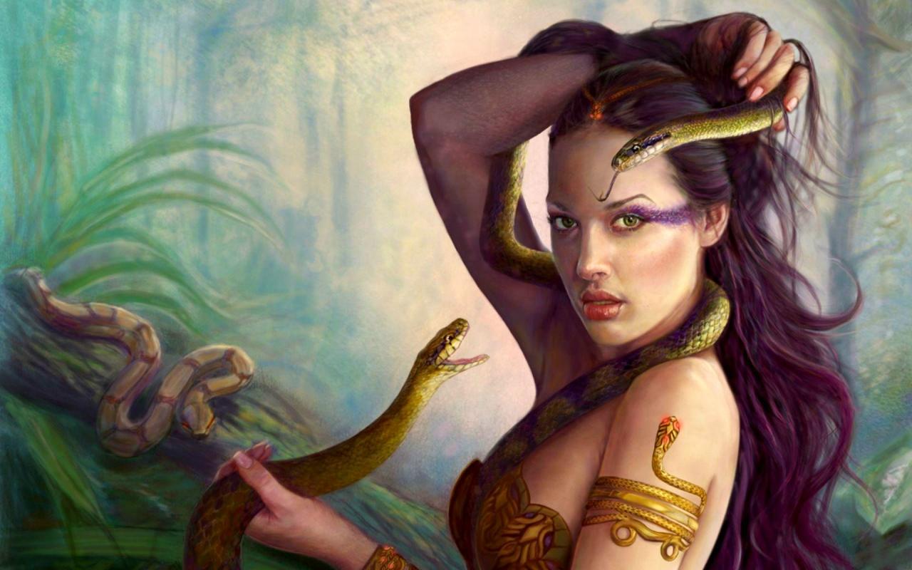 Знаки зодиака картинки змея