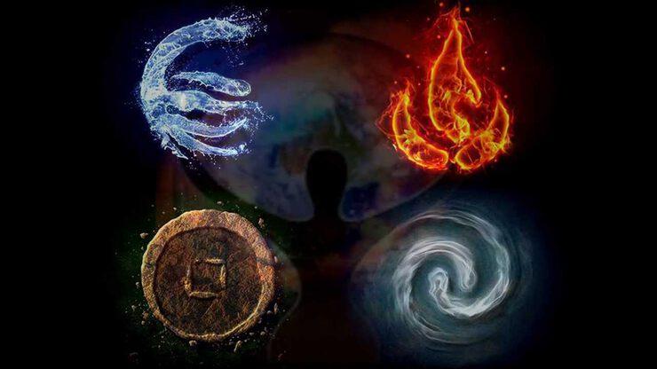Принципы Вселенной через символы стихий