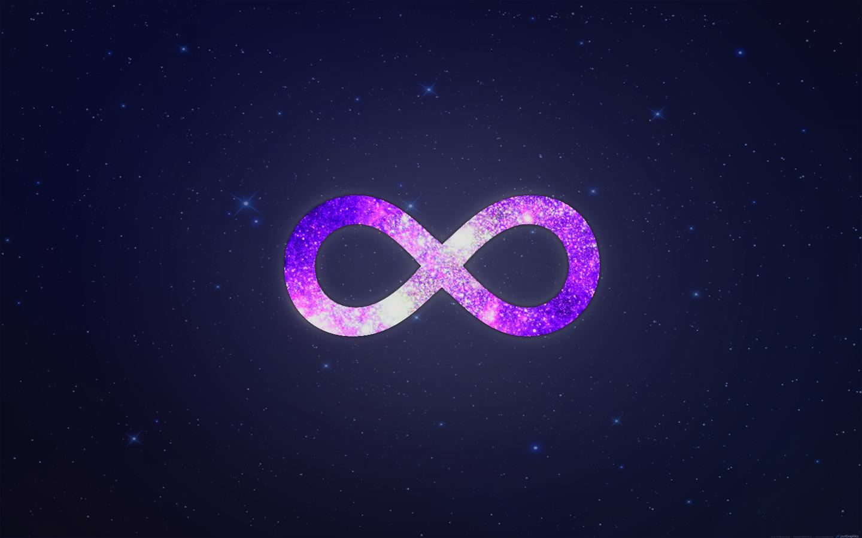 космос и знак бесконечности картинки онечно