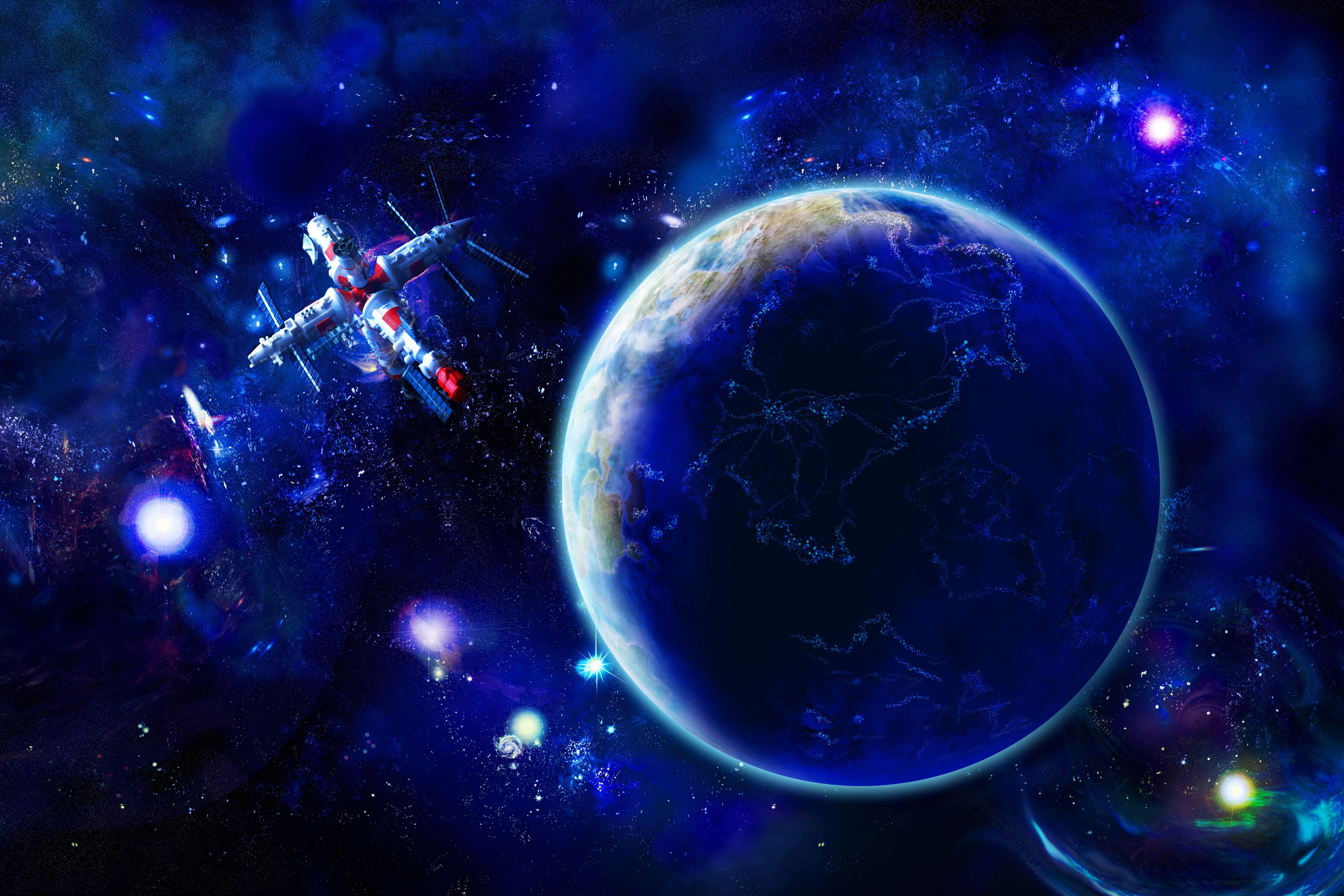космос и планеты с картинками