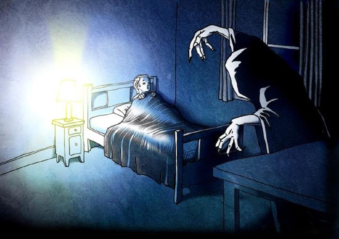 Кошмарные сны в картинках