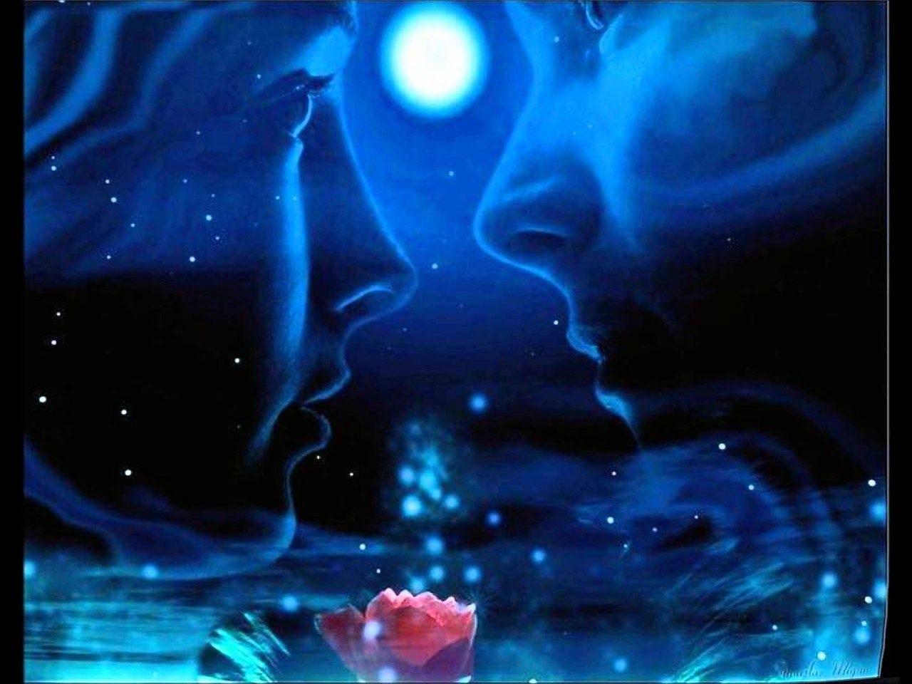 Ночь знакомства лунная