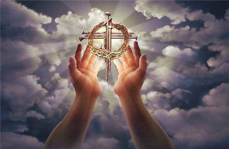 Открытка духовная, радости вам весь