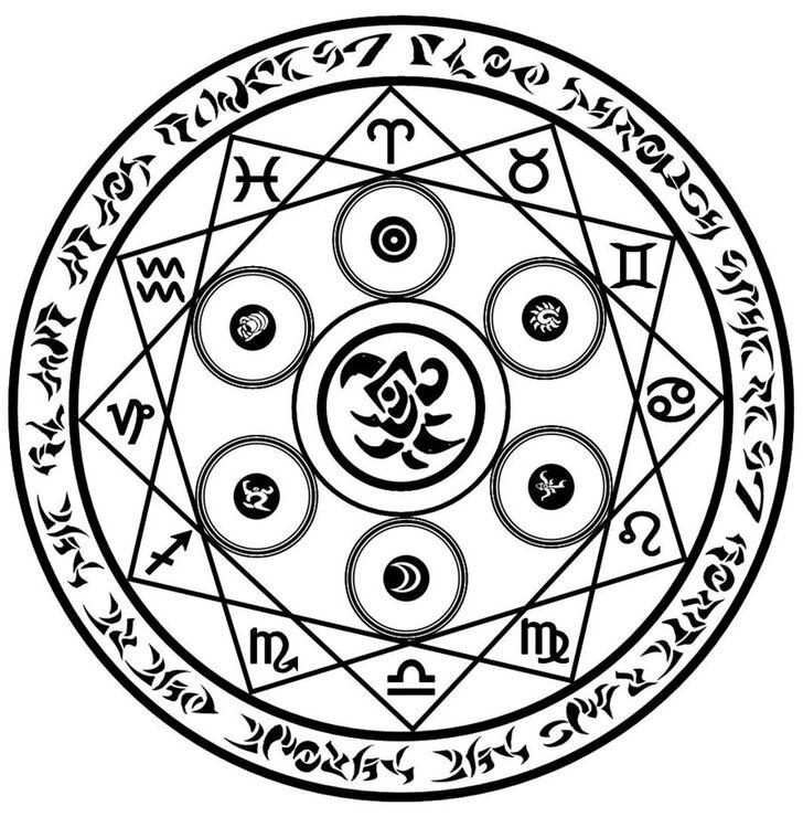 Магические пиктограммы картинки