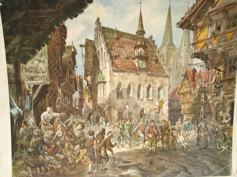 города средневековья картинки вариант, если