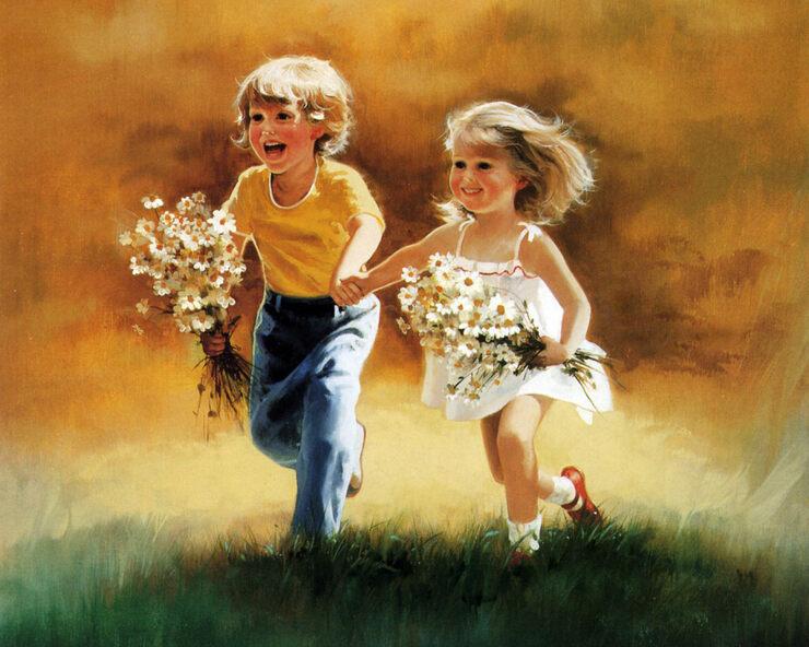 Открытка цветы дружба, извинения приняты