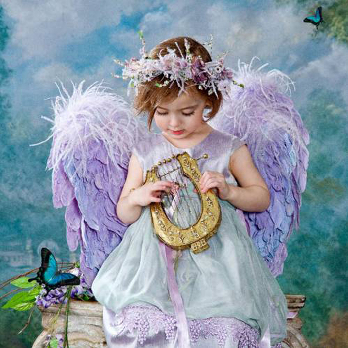 Открытки ангелочки фото