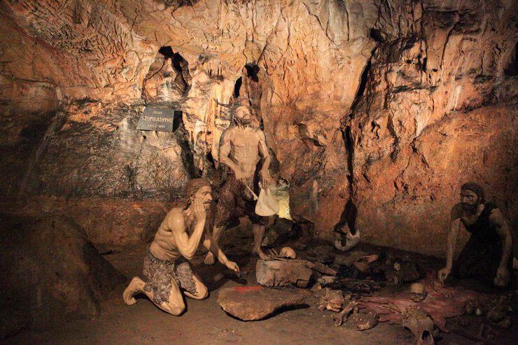 Секс видео пещера