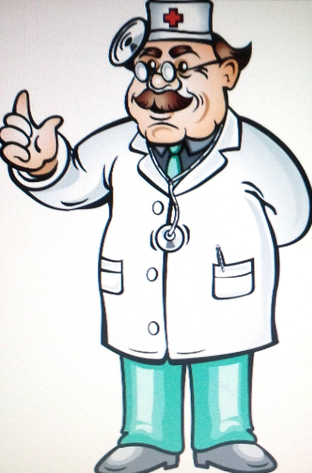 Предметные картинки врач