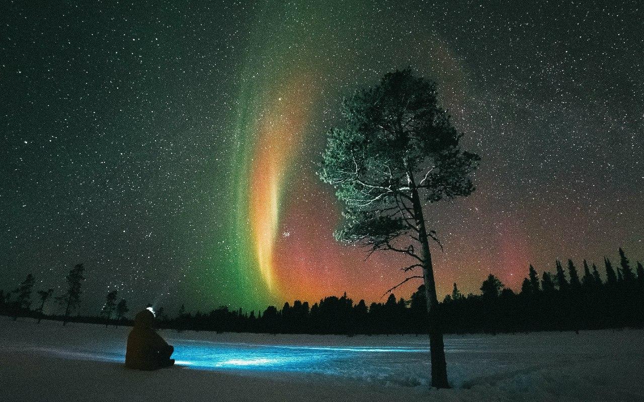 полярная ночь это как картинка всего выбирать места